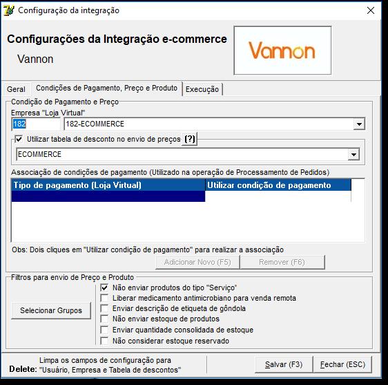 5eb59e292e122d Integração Ecommerce Vannon - Farma - Linx Share