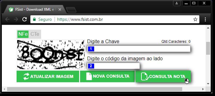 NFE BAIXAR XML